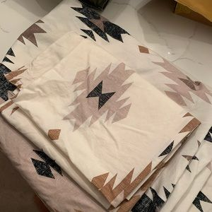 Urban outfitters duvet cover and pillow cover